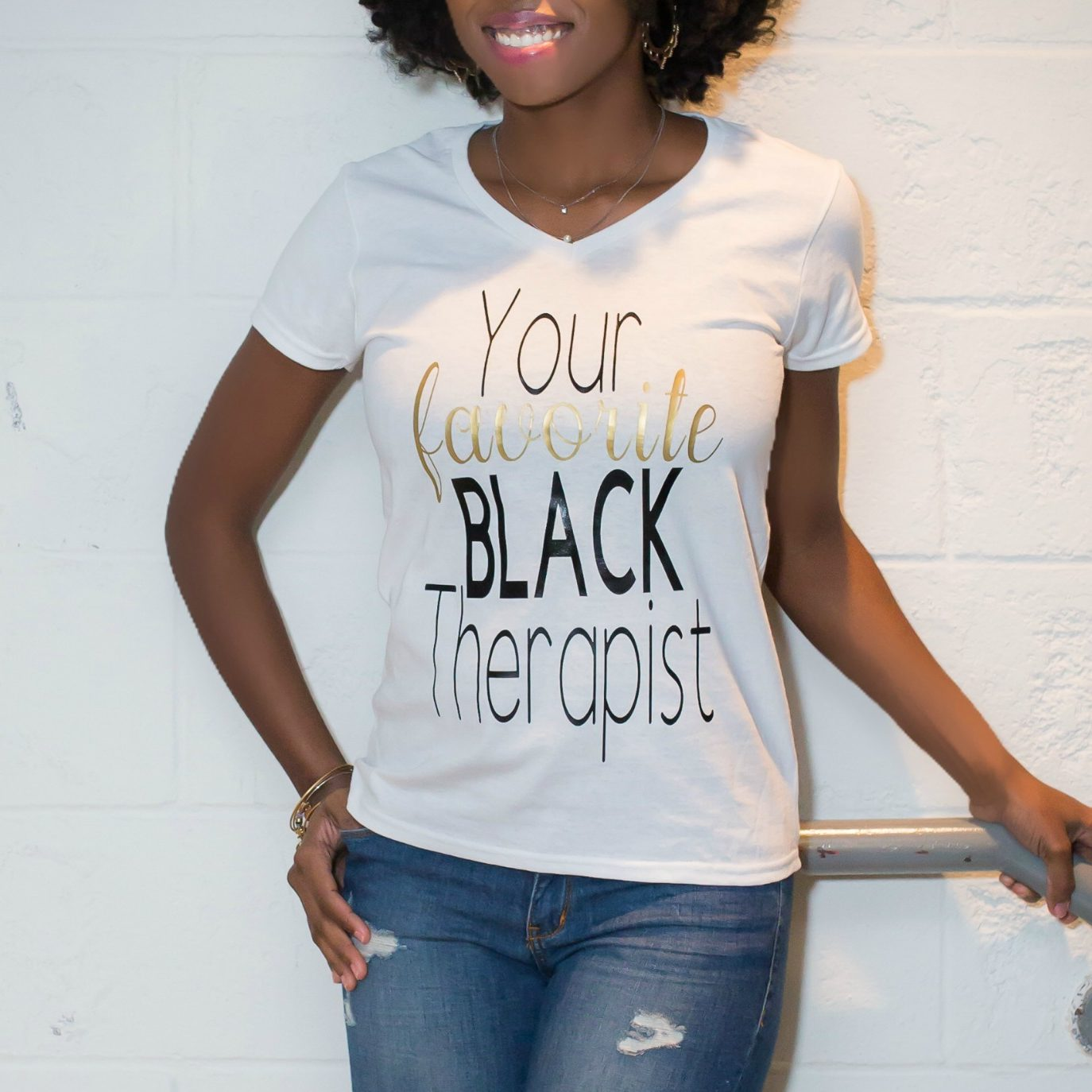 Image of Your favorite black therapist - Shirt
