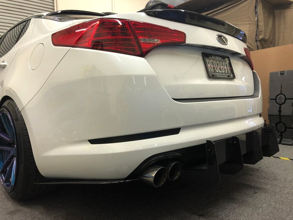Image of 2010+ Kia Optima rear diffuser