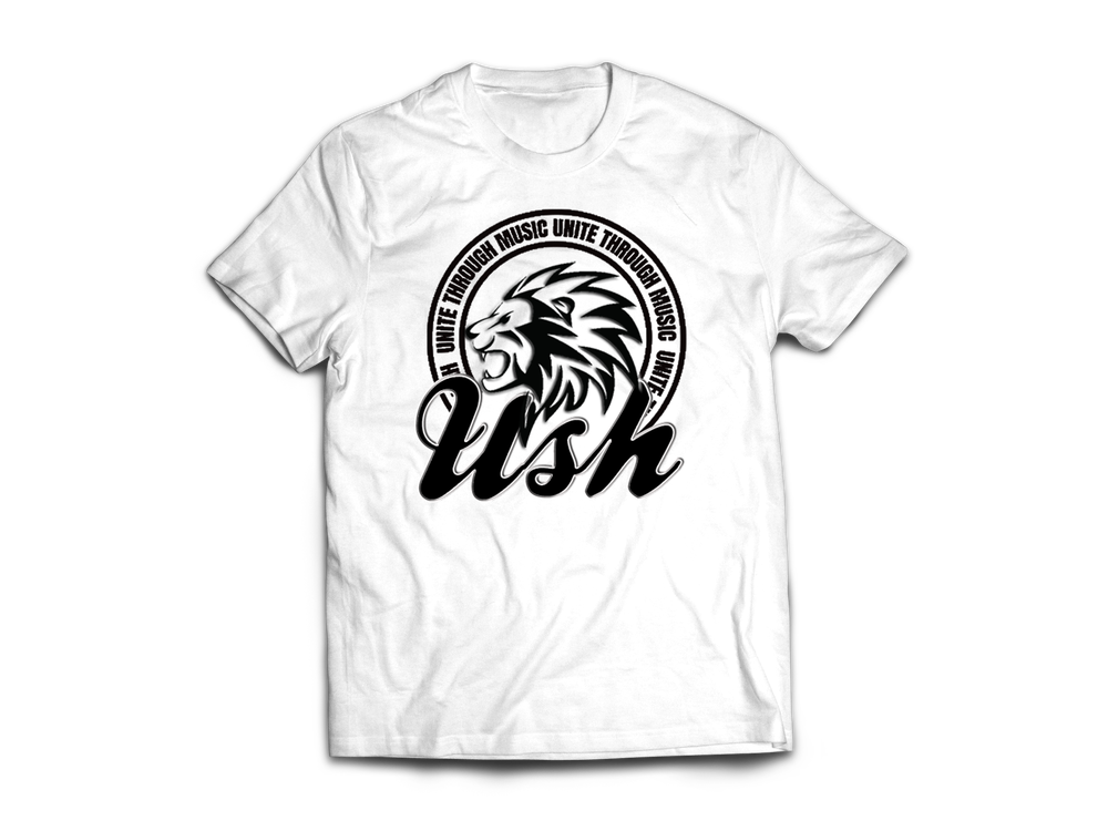 Image of USH Lion White T-Shirt
