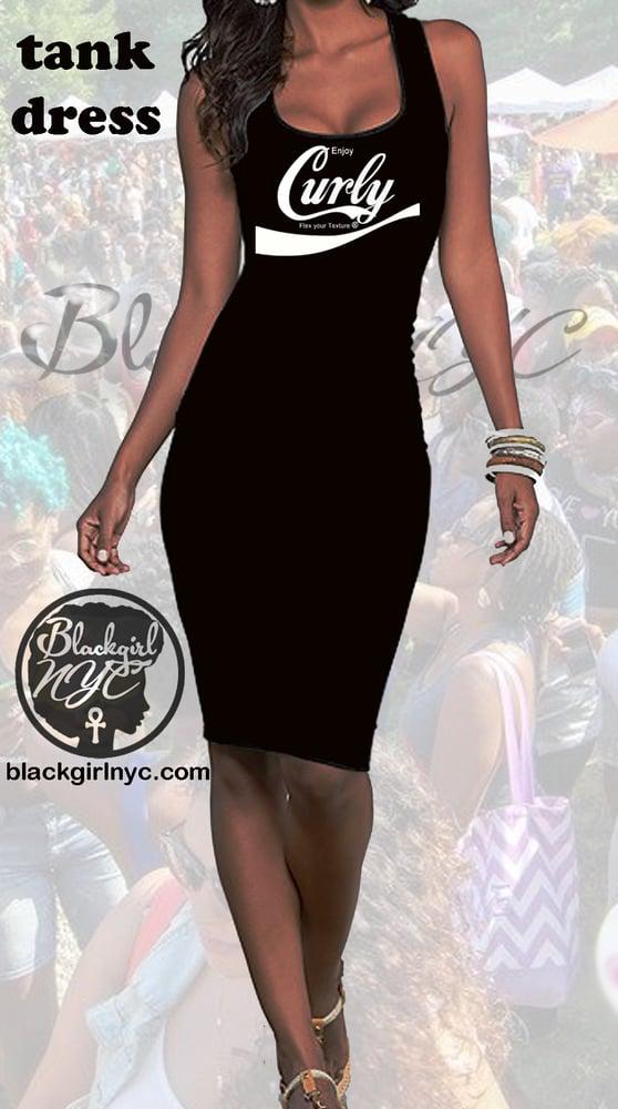 Image of TANK DRESS Enjoy CURLY