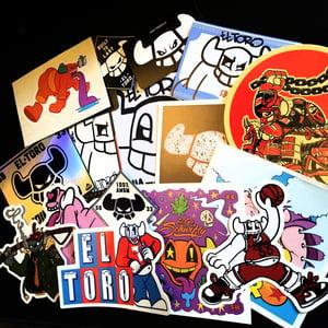 Image of 2018 Sticker Packs