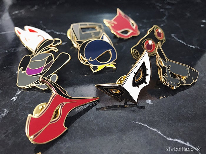 Image of [Enamel Pins] Persona 5