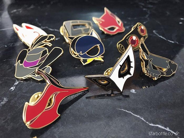 Image of [Enamel Pins] Persona 5