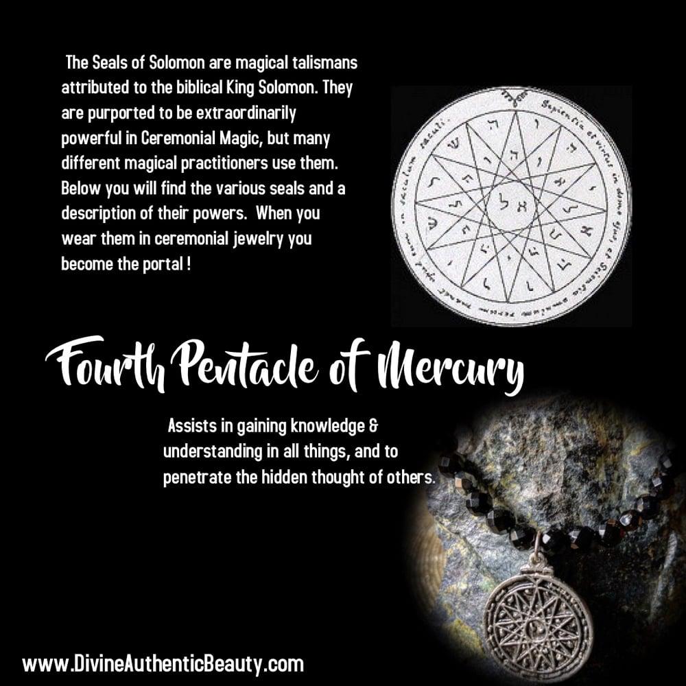 Image of Fourth Pentacle of Mercury