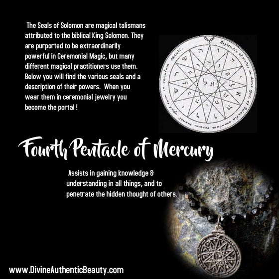 Image of Fourth Pentacle of Mercury