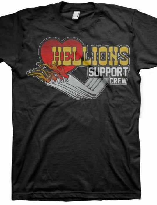 Image of Hellions Support Shirt (Hooker Headers)
