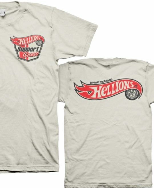 Image of Hellions Support Shirt (Hot Wheels)