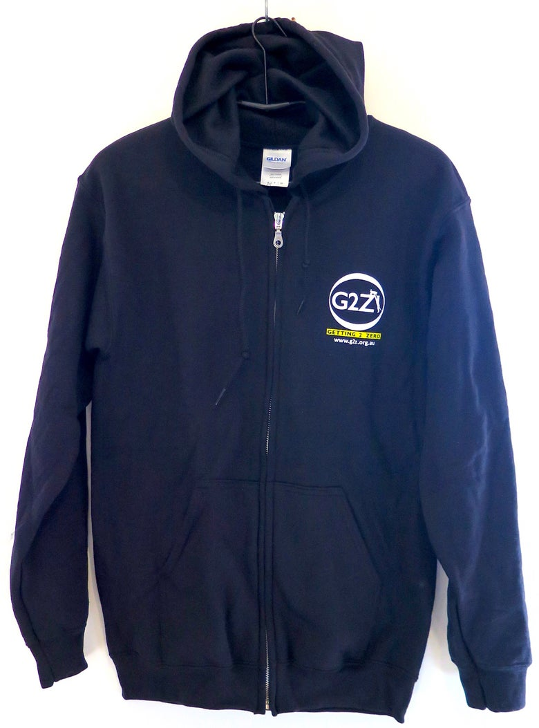 Image of G2Z Black Unisex Hoody