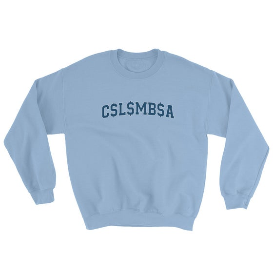 Image of ivy superleague sweater (columbia)