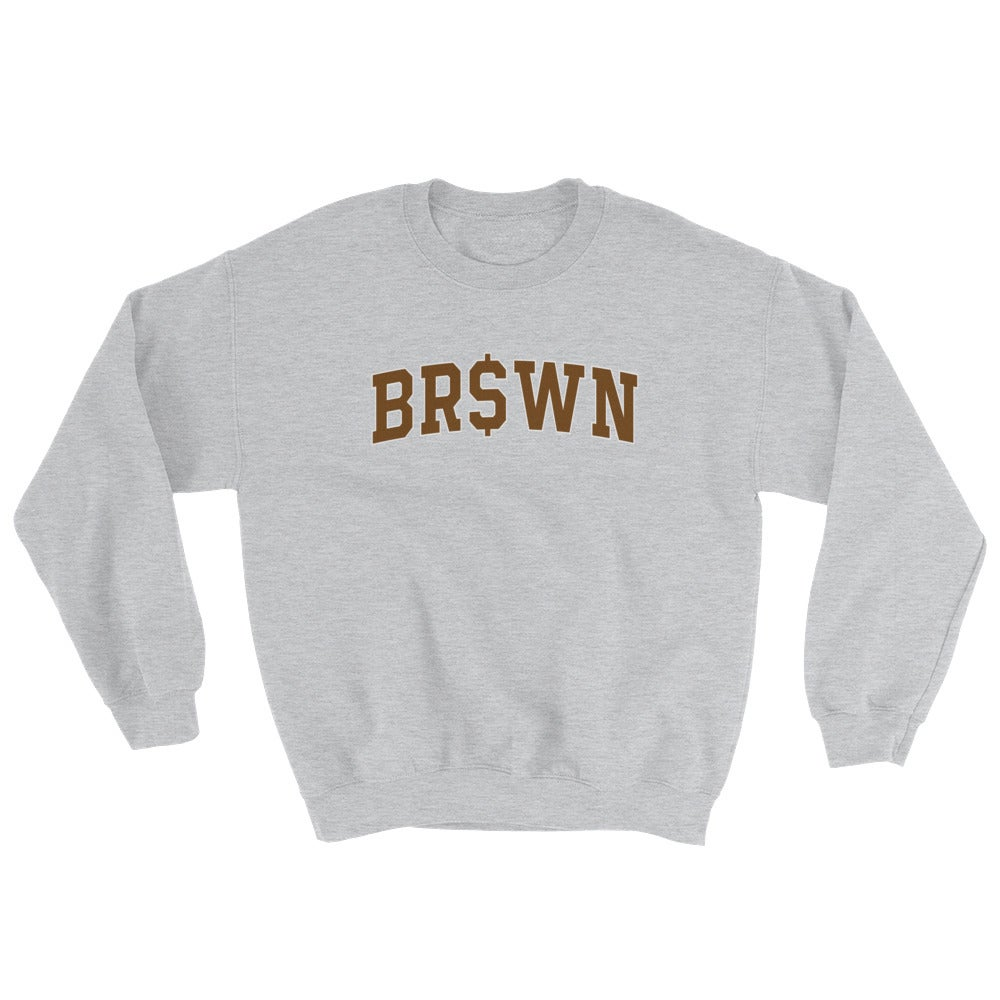 Image of ivy superleague sweater (brown)
