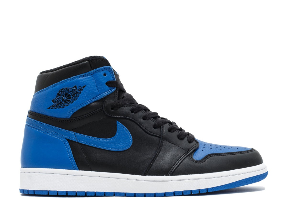 "Image of AIR JORDAN 1 RETRO HIGH OG ""ROYAL 2017 RELEASE"""
