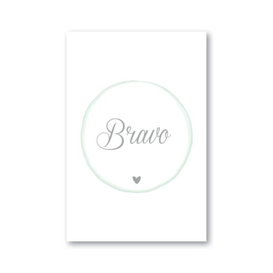 Image of Carte BRAVO (avec enveloppe)