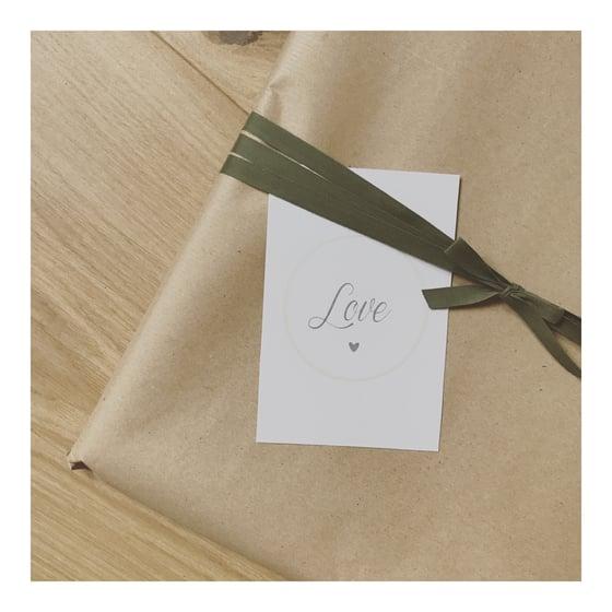 Image of Carte LOVE (avec enveloppe)