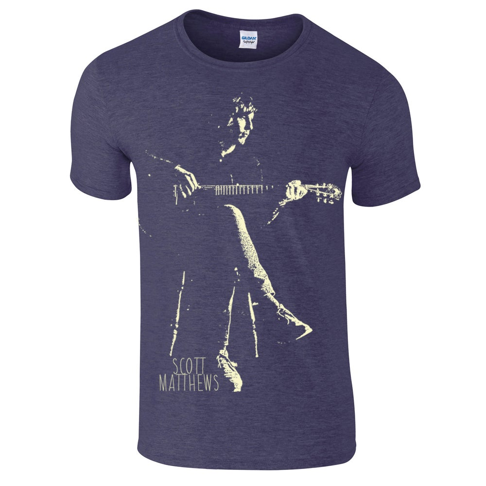 Image of Scott Matthews T-shirt - Mens (heather navy)
