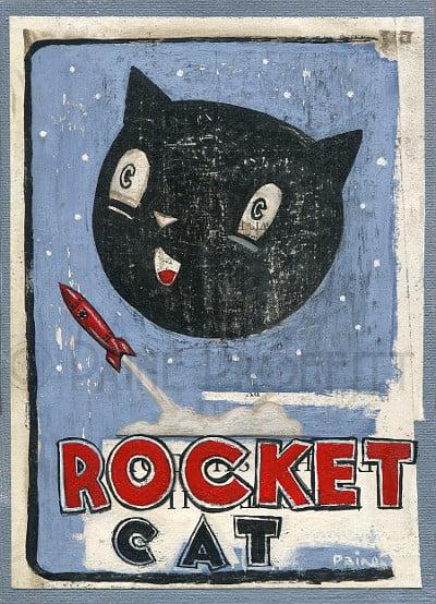 Image of Rocket Cat
