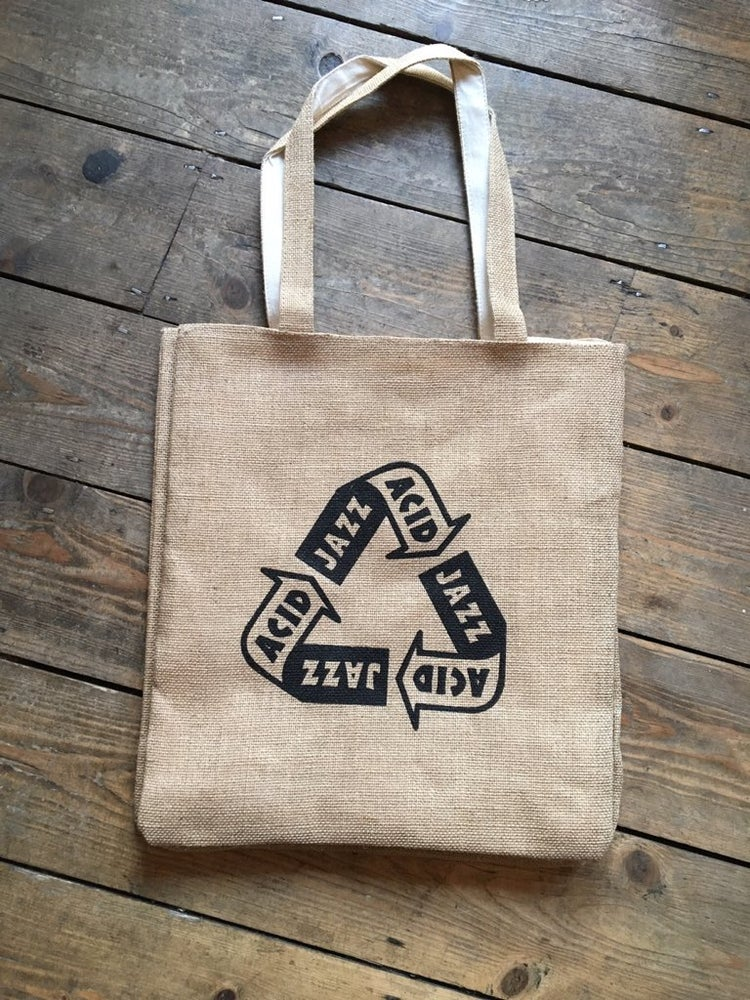 "Image of Acid Jazz ""Environmentally Funky"" Tote Bag"