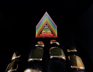 Image of HBFS Pyramid (Guy-Man Gold Edition)