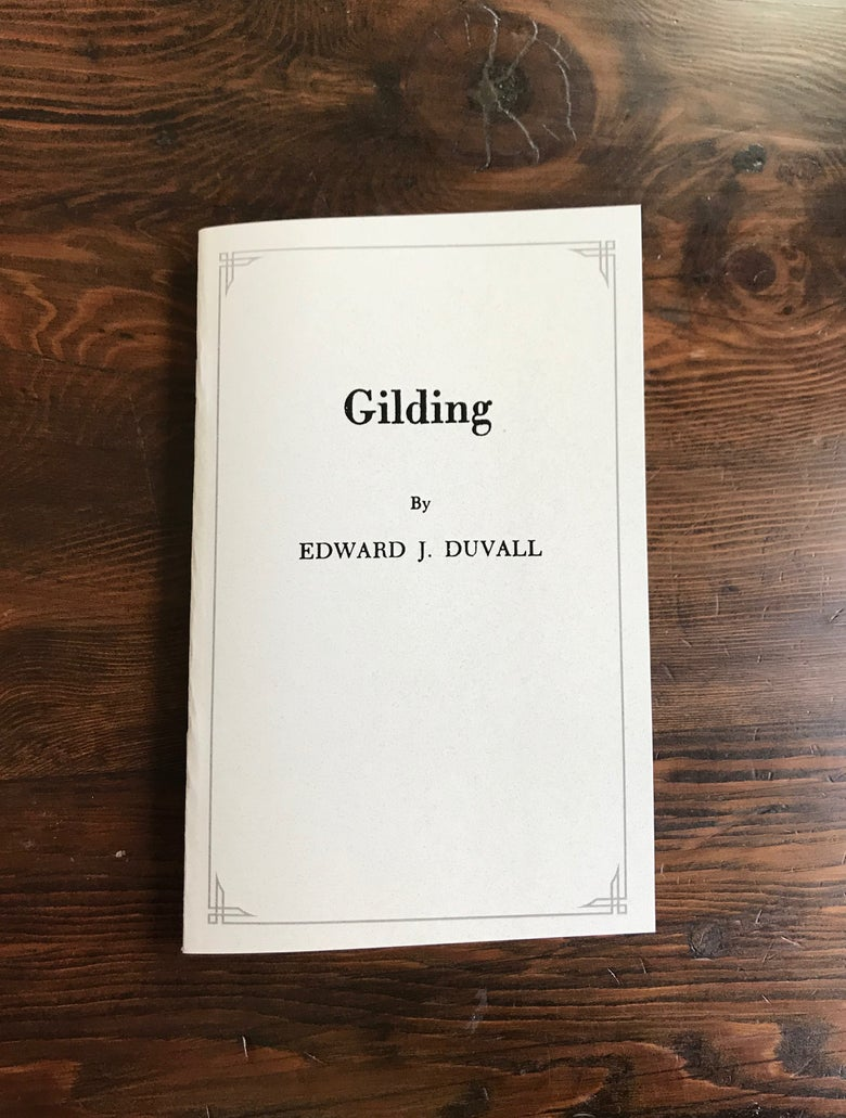 Image of Gilding by Edward J. Duvall