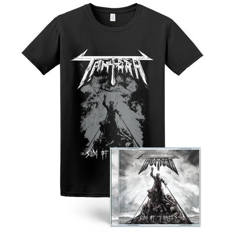 Image of Sum Of Forces CD [SIGNED] + T-Shirt [BUNDLE] Pre-Order