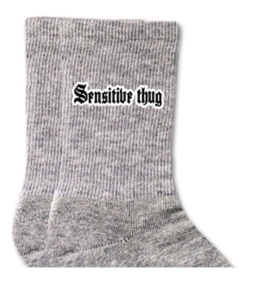 Image of Sensitive thug socks