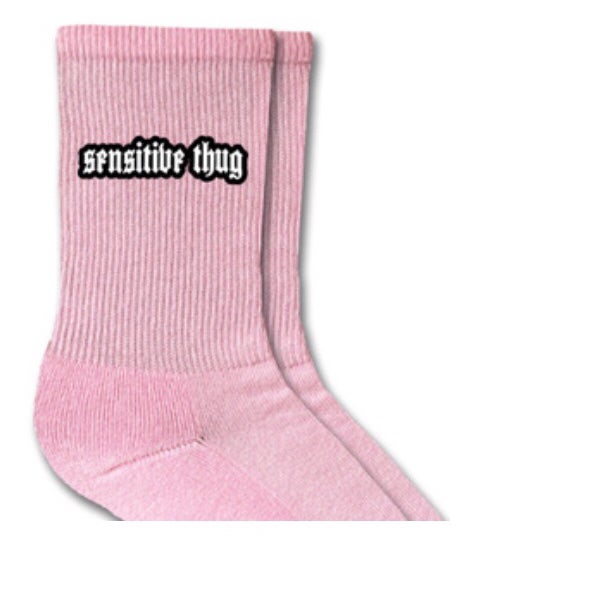 Image of Sensitive thug socks
