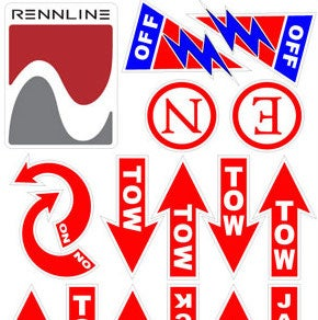 Image of Rennline Safety Decal Kit