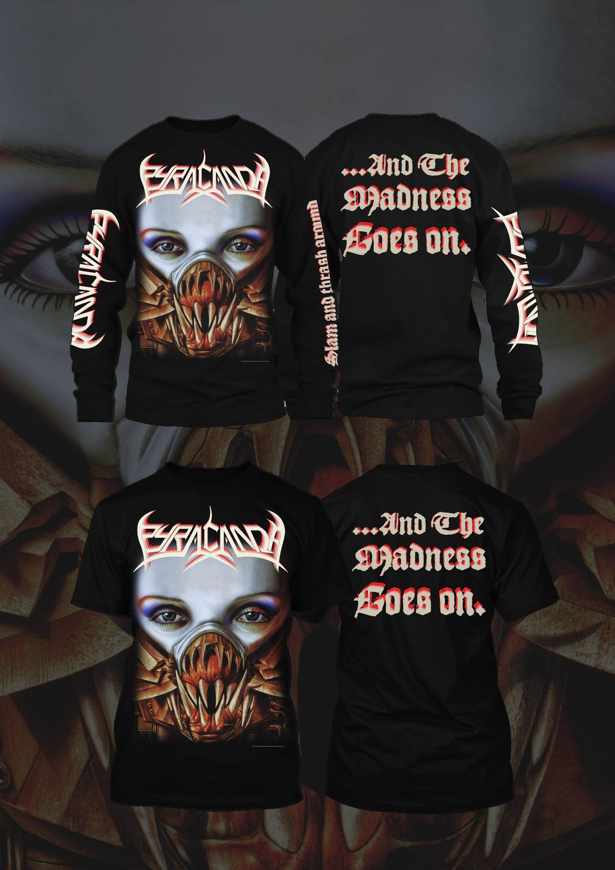 Image of Pyracanda -Two Sides Of A Coin  T-shirt/Longsleeve