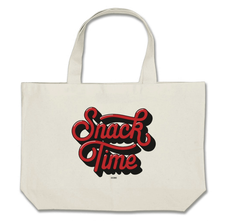 Image of Snack Time Jumbo Tote Bag