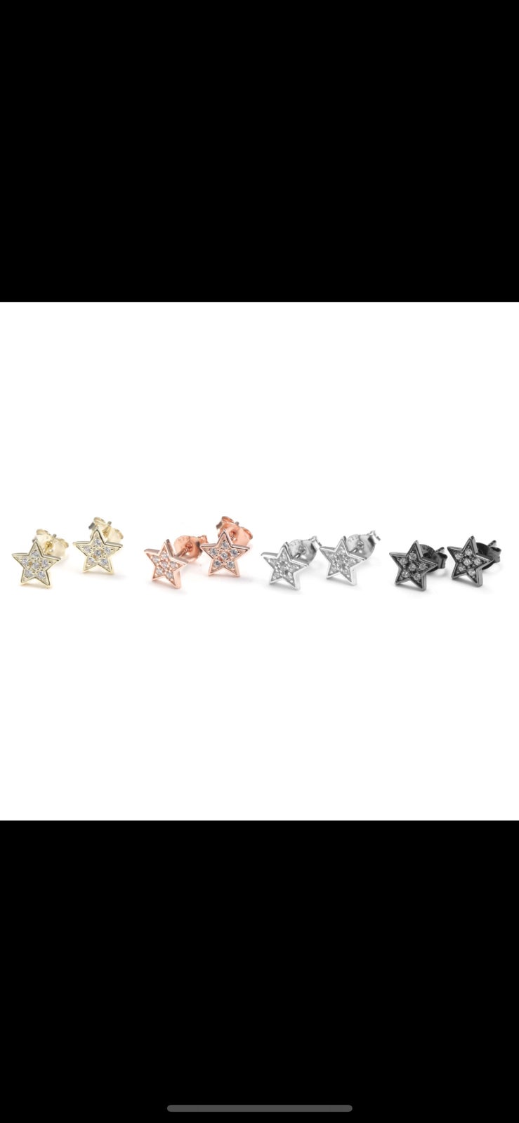 Image of Diamond Star Studs