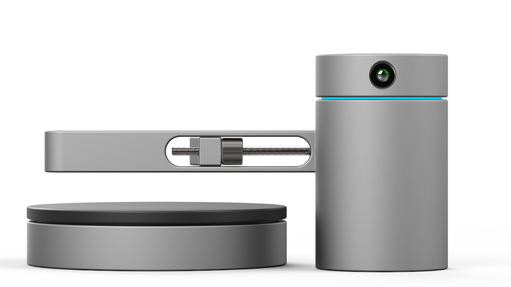 Image of EORA 3D SCANNER + TURNTABLE -- SILVER
