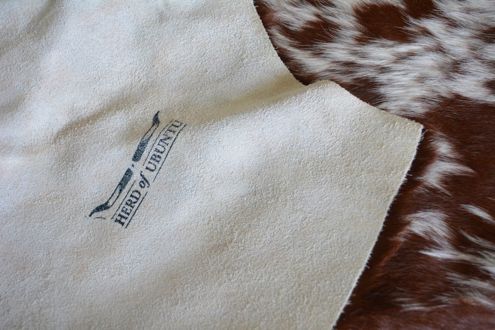 Image of Chocolate Nguni Cowhide Rug