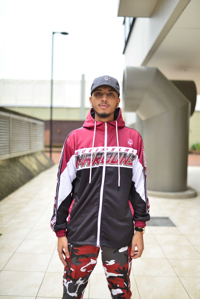 Image of QLD_MAROONS TRACK JACKET