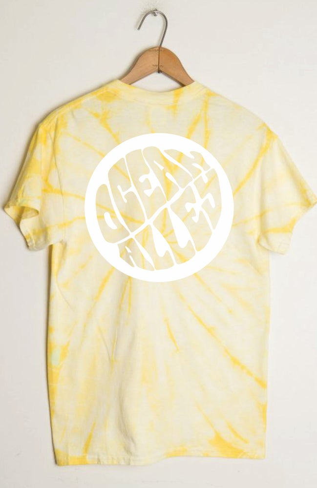 Image of OA Yellow Tie Dye T-Shirt