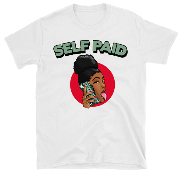 Image of Self Paid (White T-Shirt)