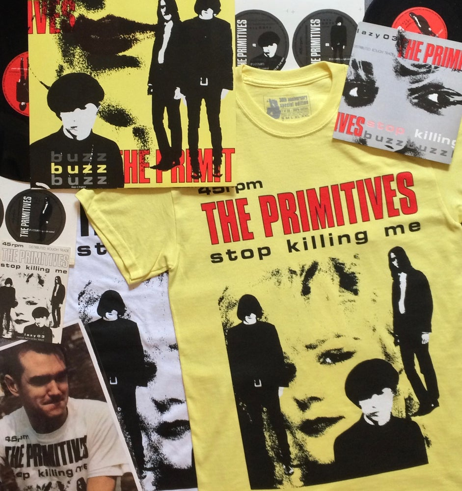 Image of Stop Killing Me Tee Shirt in colour - limited edition of 50