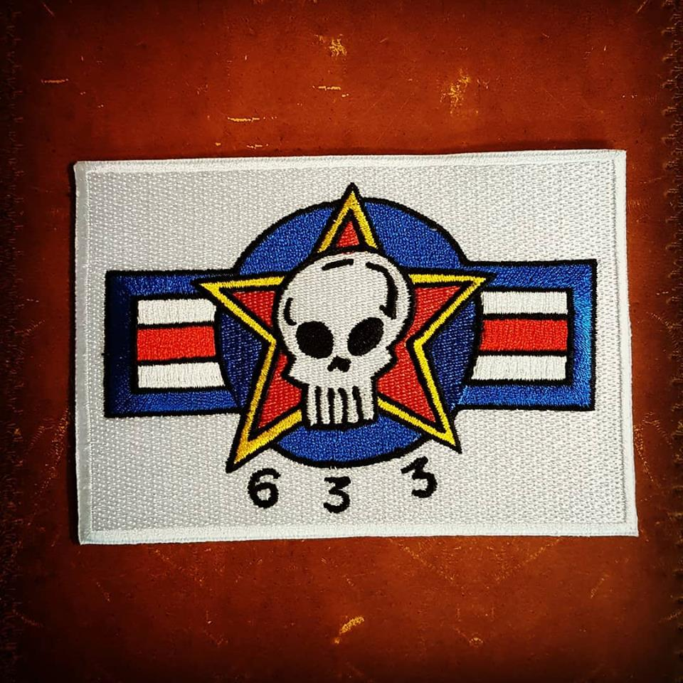 Image of Hewlett & Bond Designed 633 SQUADRON PATCH