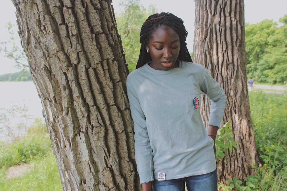 Image of M.A.B. LONG SLEEVE POCKET TEES
