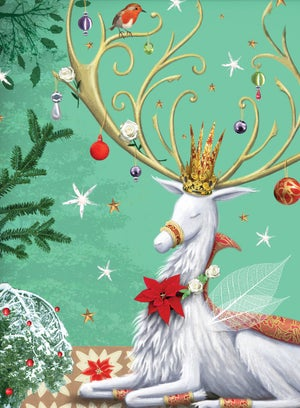 Image of Magnificent Stag, Christmas Card