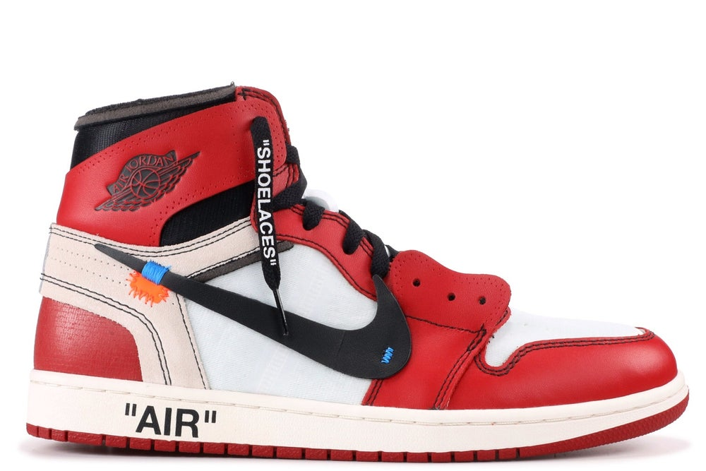"Image of The Ten: Air Jordan 1 x OFF-WHITE ""Chicago"""
