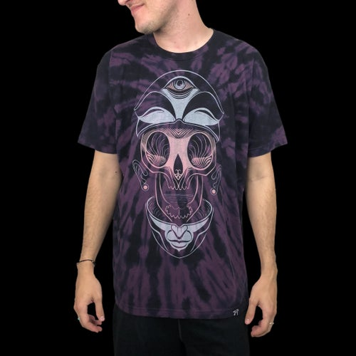 Image of SPLIT HEAD Tie-Dye