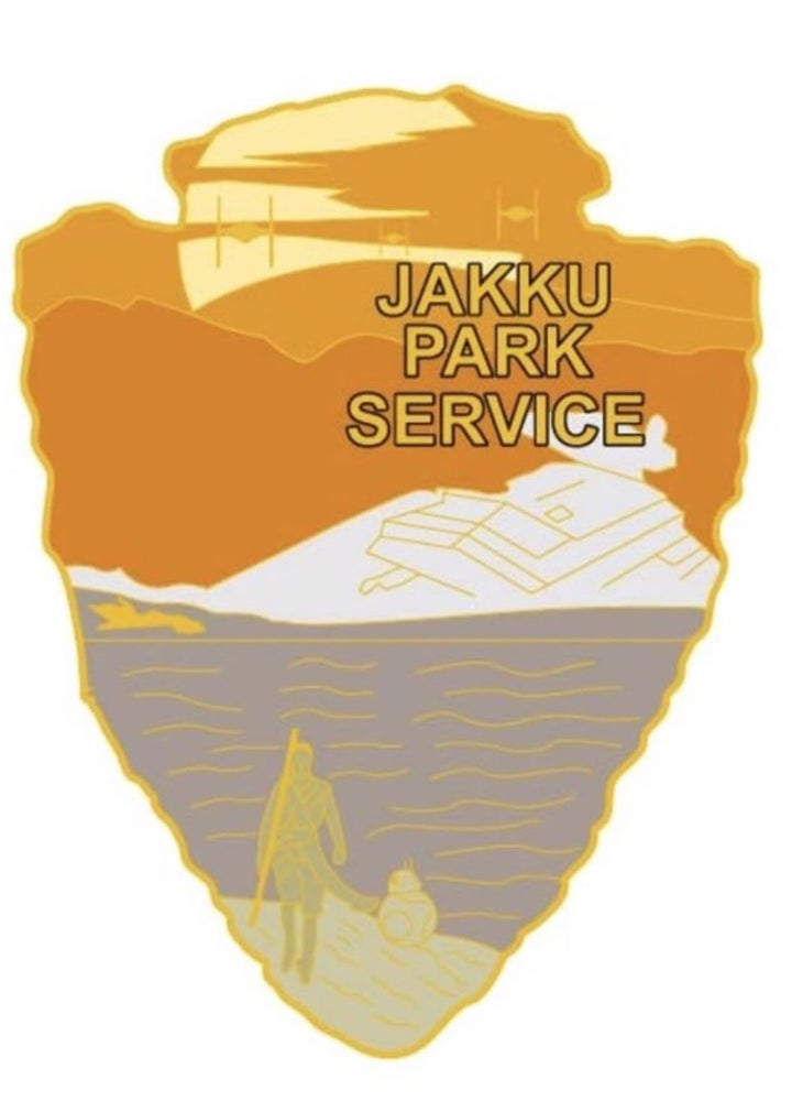 Image of Star Wars Park Service Series 2 - JAKKU Sticker