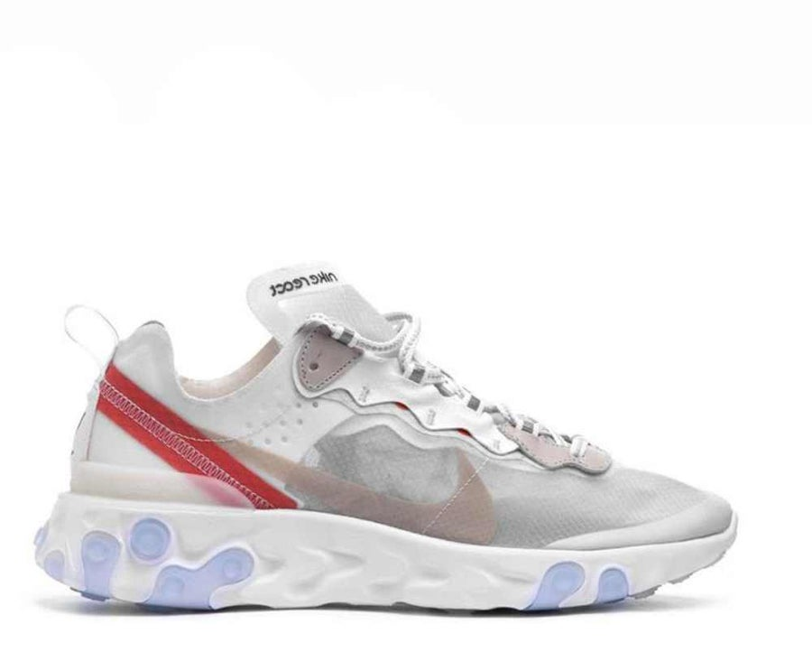 Image of NIKE REACT ELEMENT 87 SAIL LIGHTBONE AQ1090-100