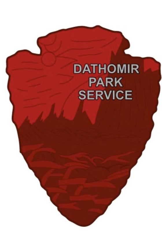 Image of Star Wars Park Service Series 2 - DATHOMIR Sticker - Preorder