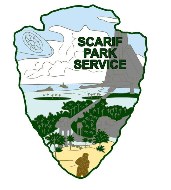 Image of Star Wars Park Service Series 2 - SCARIF Sticker