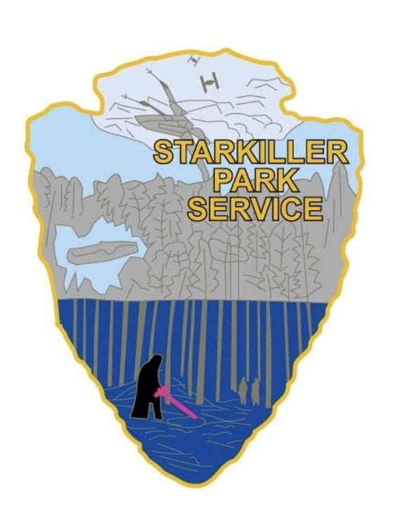 Image of Star Wars Park Service Series 2 - STARKILLER Sticker