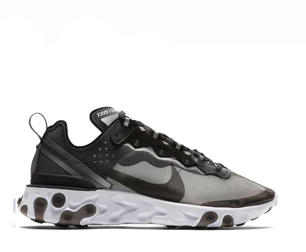 bcac566634326 NIKE REACT ELEMENT 87 ANTHRACITE BLACK AQ1090-001