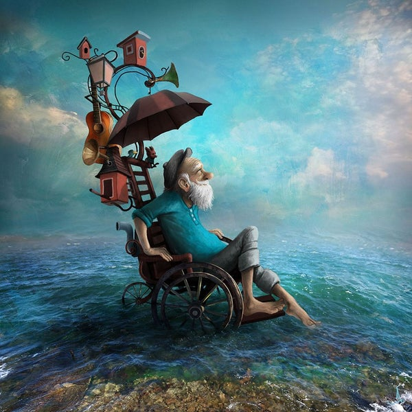"""Toe dipping"" - Alexander Jansson Shop"