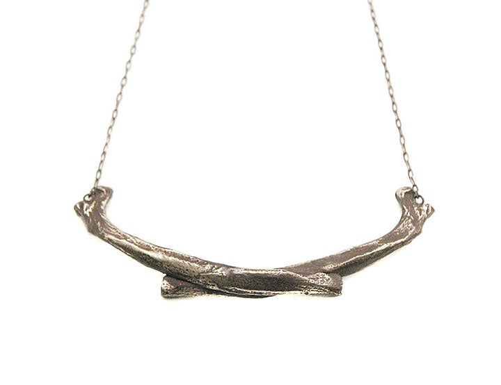 Image of coyote necklace