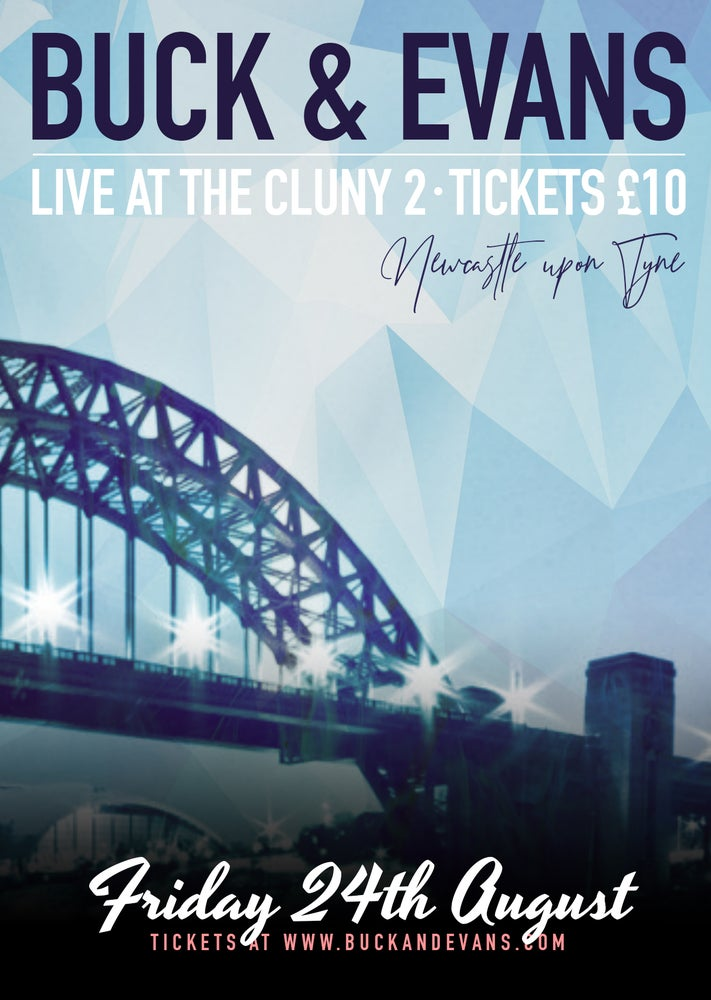 Image of eTicket: Buck & Evans Live at the Cluny 2, Newcastle