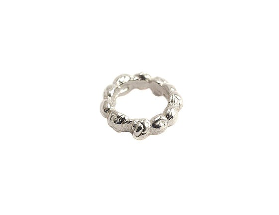 Image of caviar stackable ring